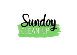 Sunday Clean up