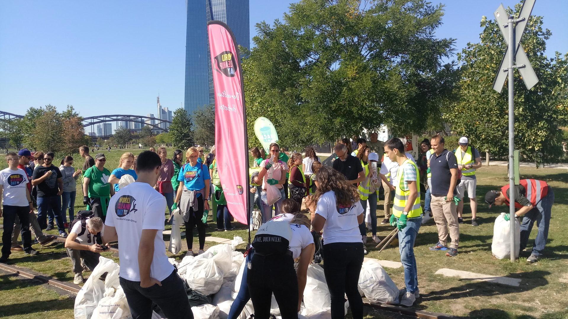 SodaStream räumt auf zum World Cleanup Day