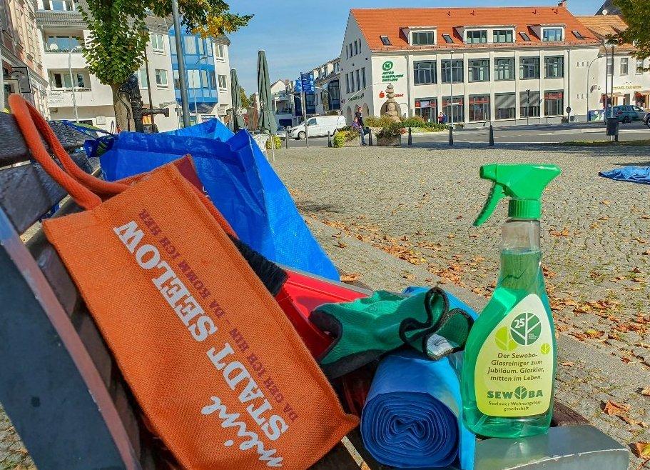Seelower Frühjahrsputz - Seelow räumt auf! Für eine saubere Stadt :-)