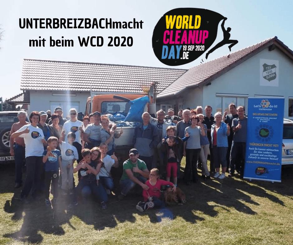 UNTERBREIZBACHmacht! mit beim WCD 2020 (Thüringen)