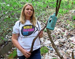 world cleanup day christine steichele