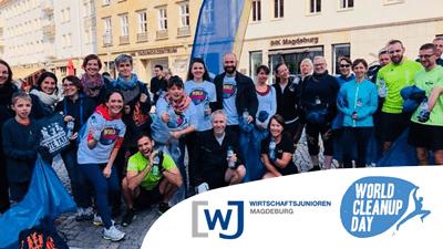 Otto räumt auf! World Cleanup Day in Magdeburg