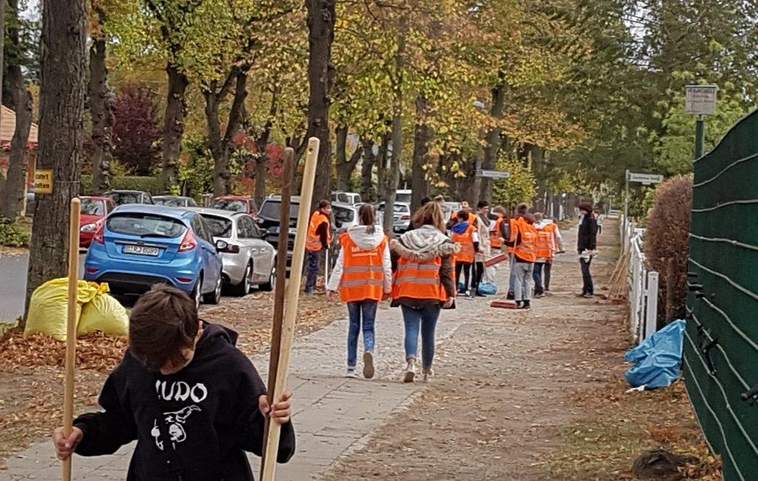 2. Herbstputz Ludwigsdorf, Rousseaupark & Waldsiedlung, Brandenburg