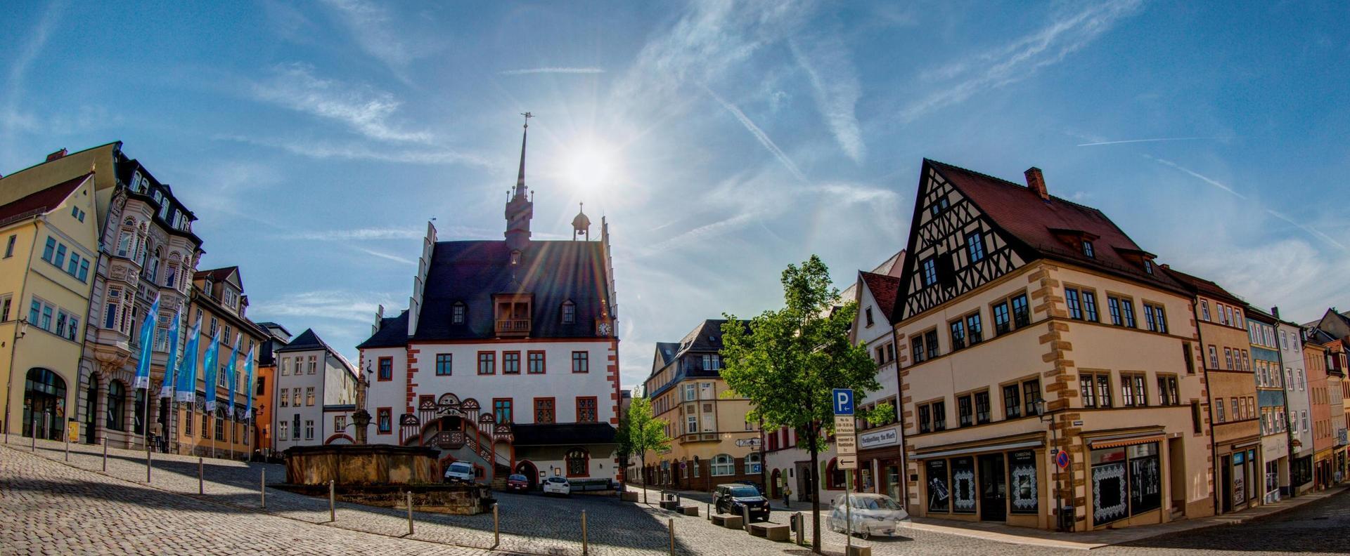 Pößneck (Thüringen) putzen! zum World Cleanup Day