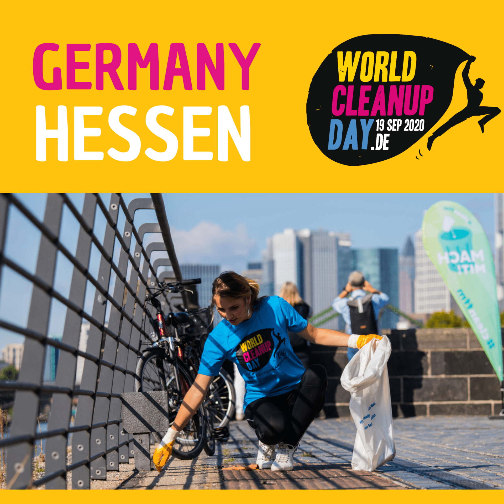 World Cleanup Day in Frankfurt (Hessen)