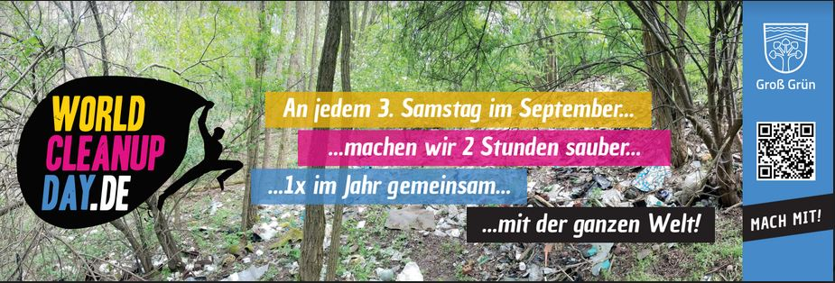 2.World Cleanup Day Blankenfelde-Mahlow/ OT Blankenfelde (Brandenburg)