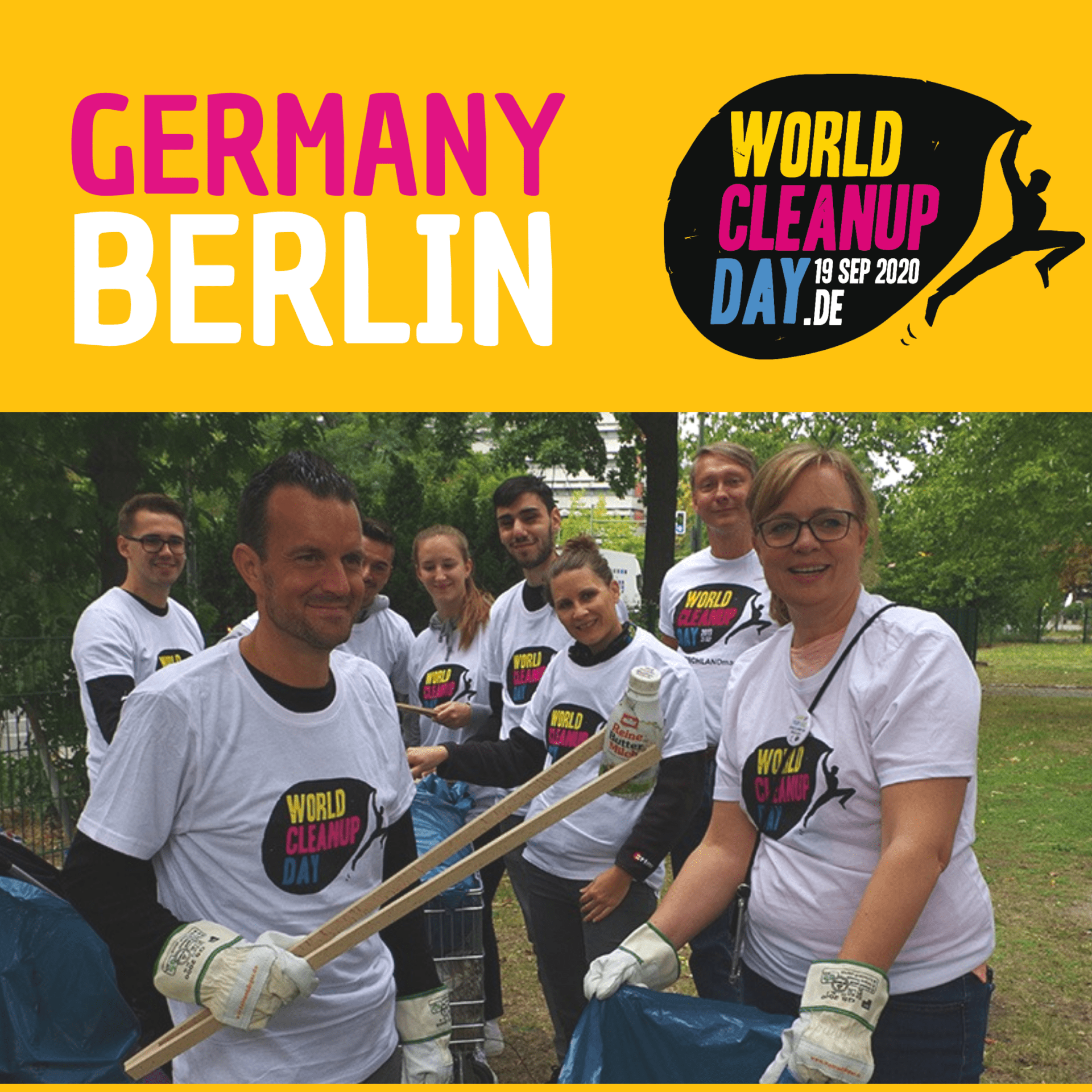 EDGE cleans up Mauerpark (Berlin)