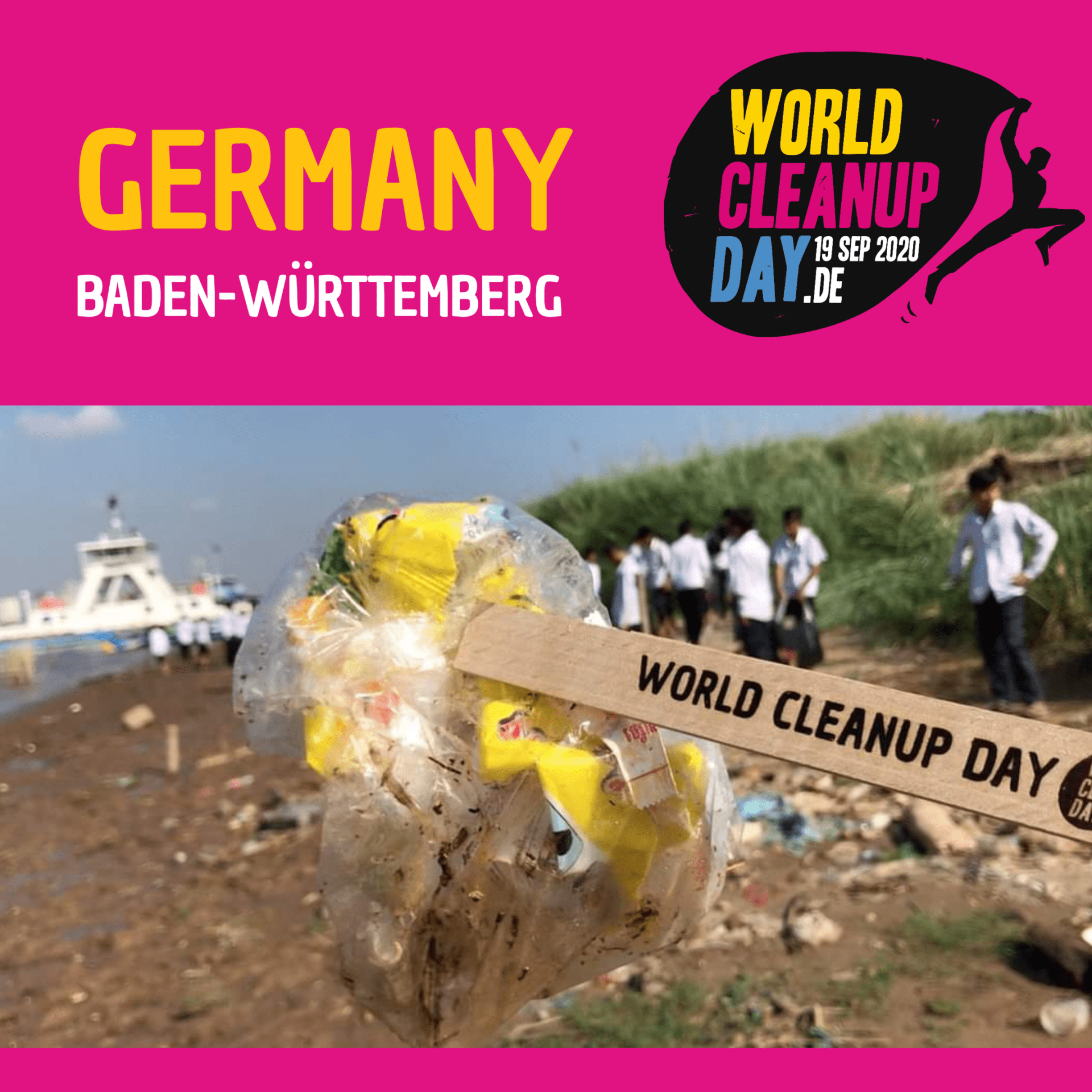 World Cleanup Day in Markgröningen (Baden-Württemberg)