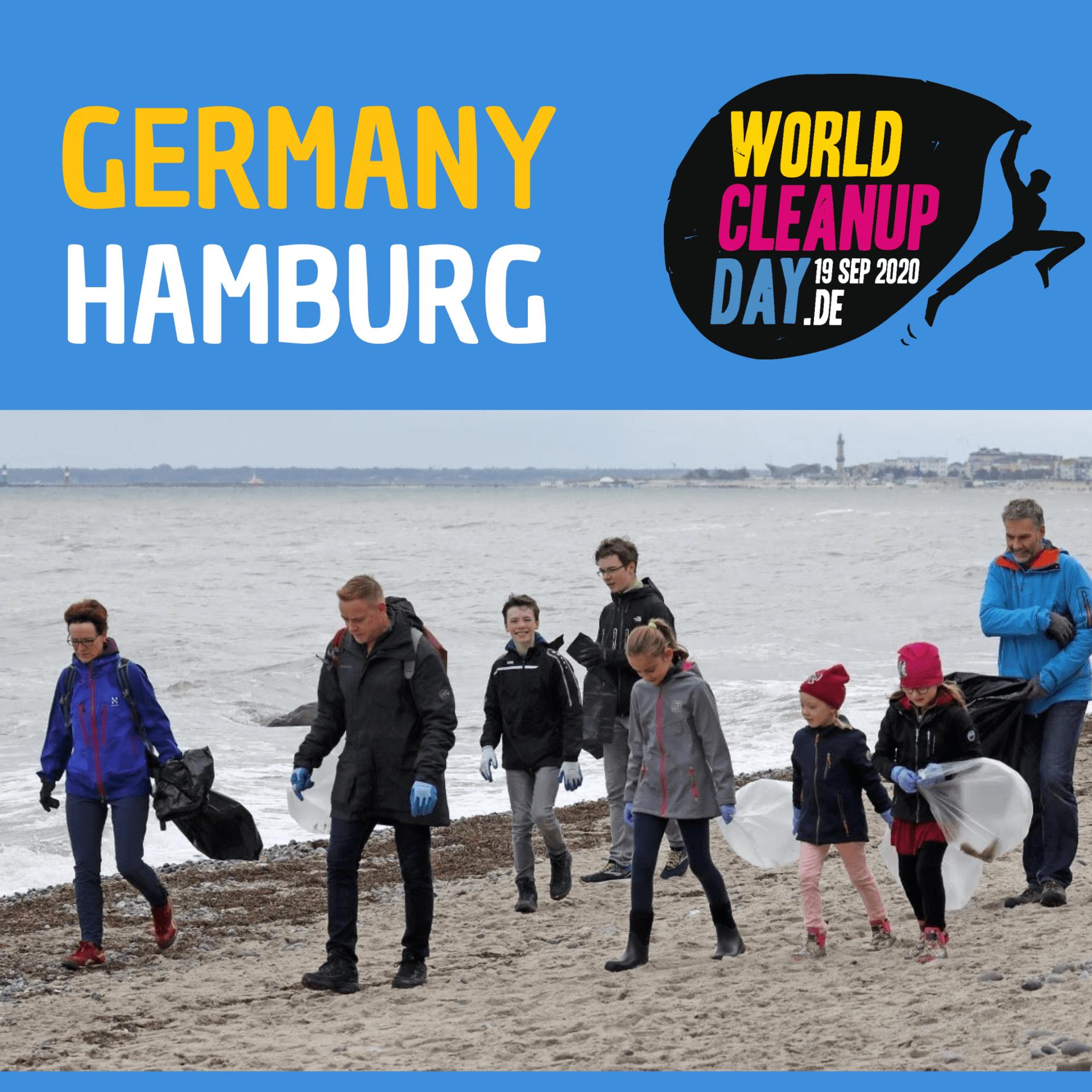 """World Cleanup Day """"Hamburg räumt auf!"""" (Hamburg)"""