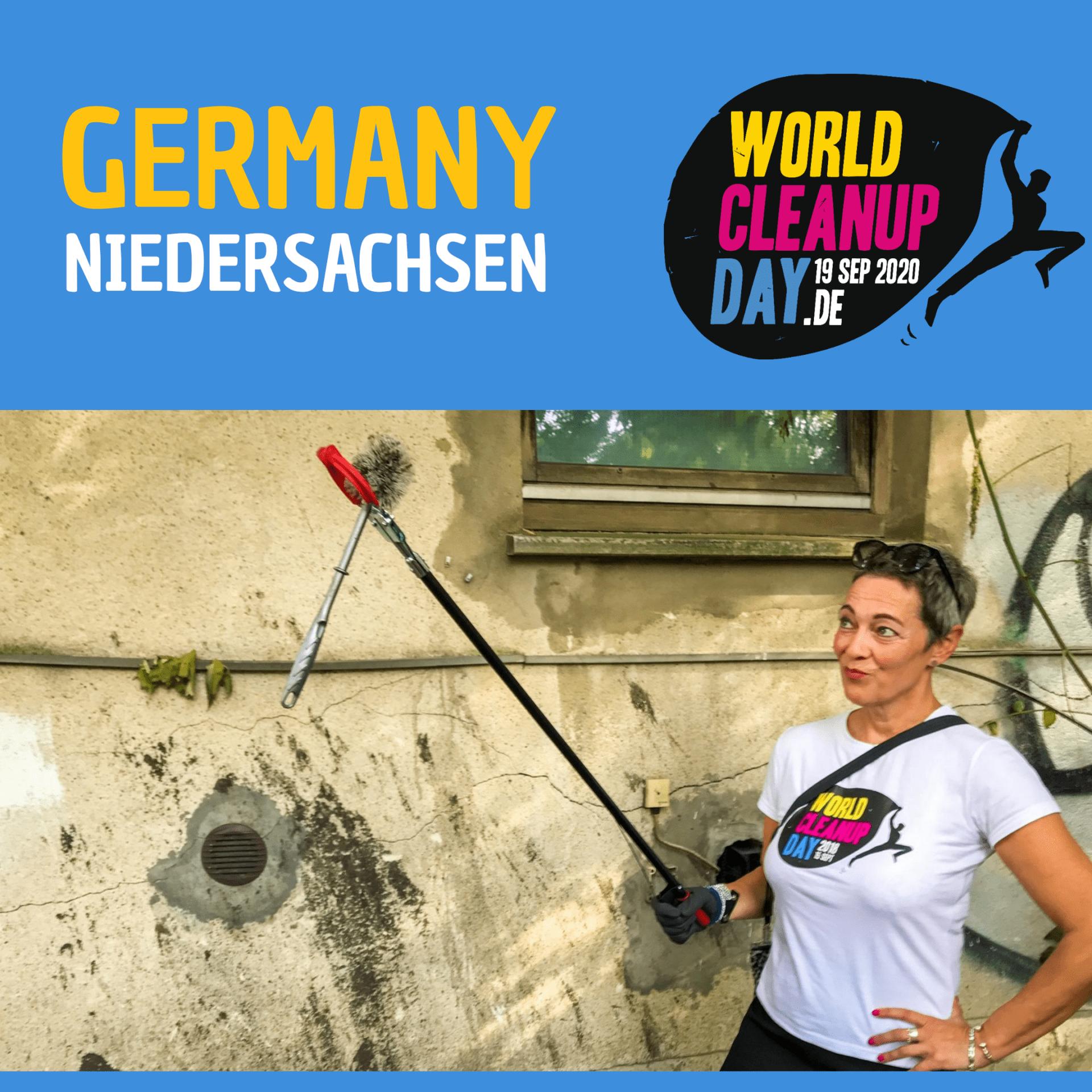 Cleanup-Aktion Buchholz / Nordheide (Niedersachsen)
