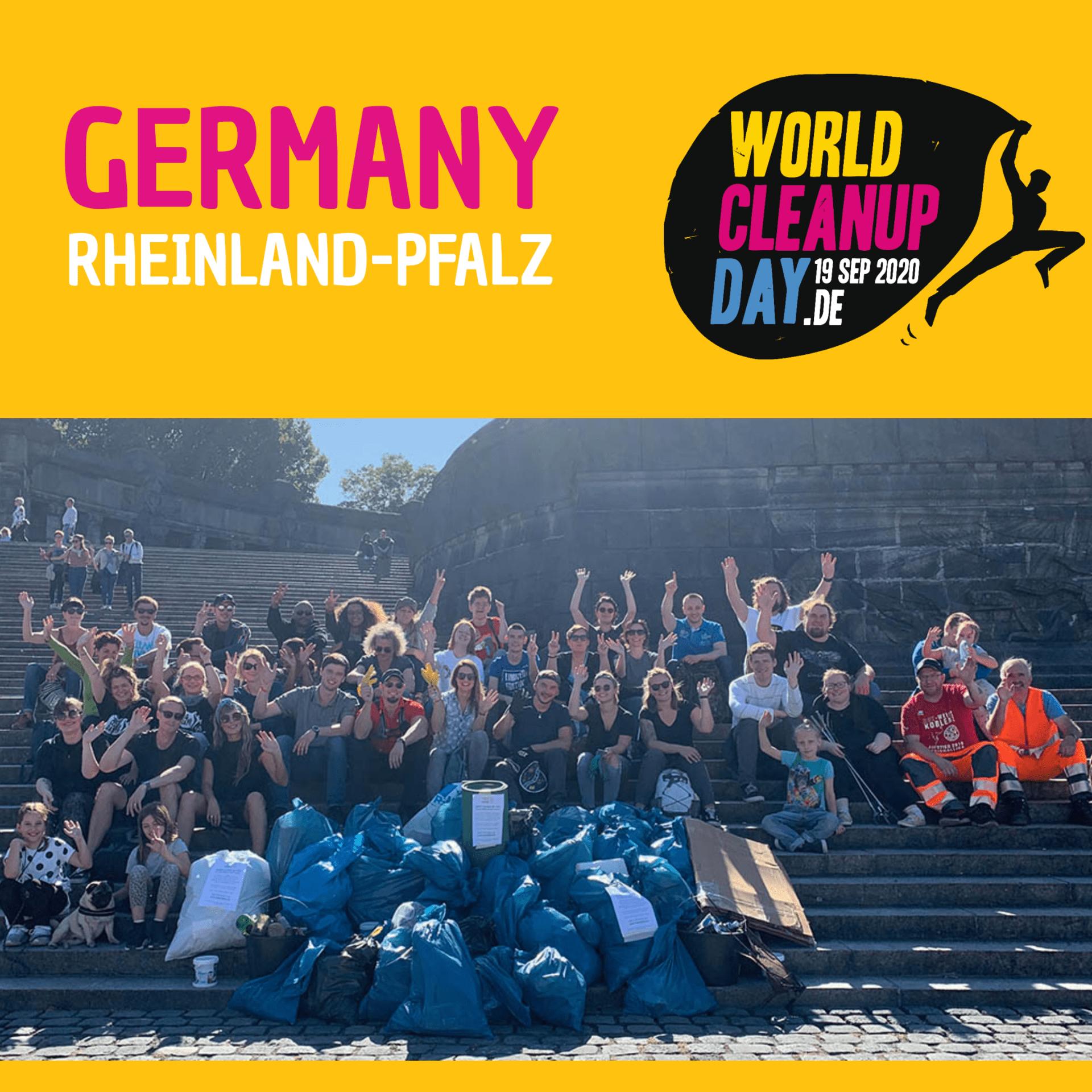 World CleanUp Day in Dierdorf (Rheinland-Pfalz)