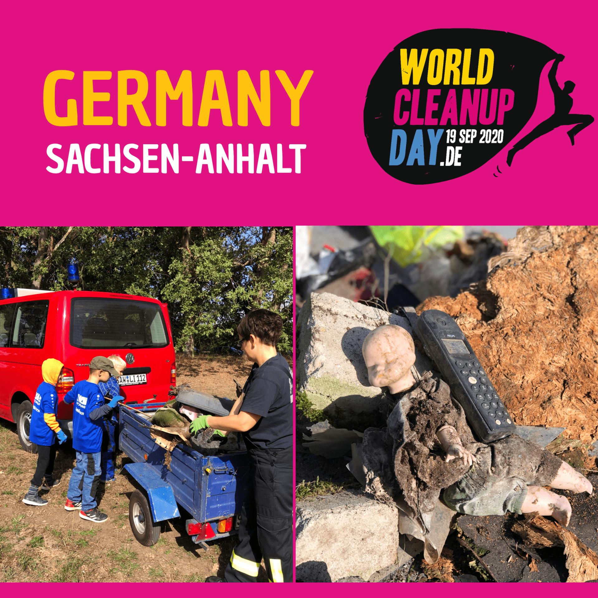 World Cleanup Day 2020 - Stendal räumt auf (Sachsen-Anhalt)