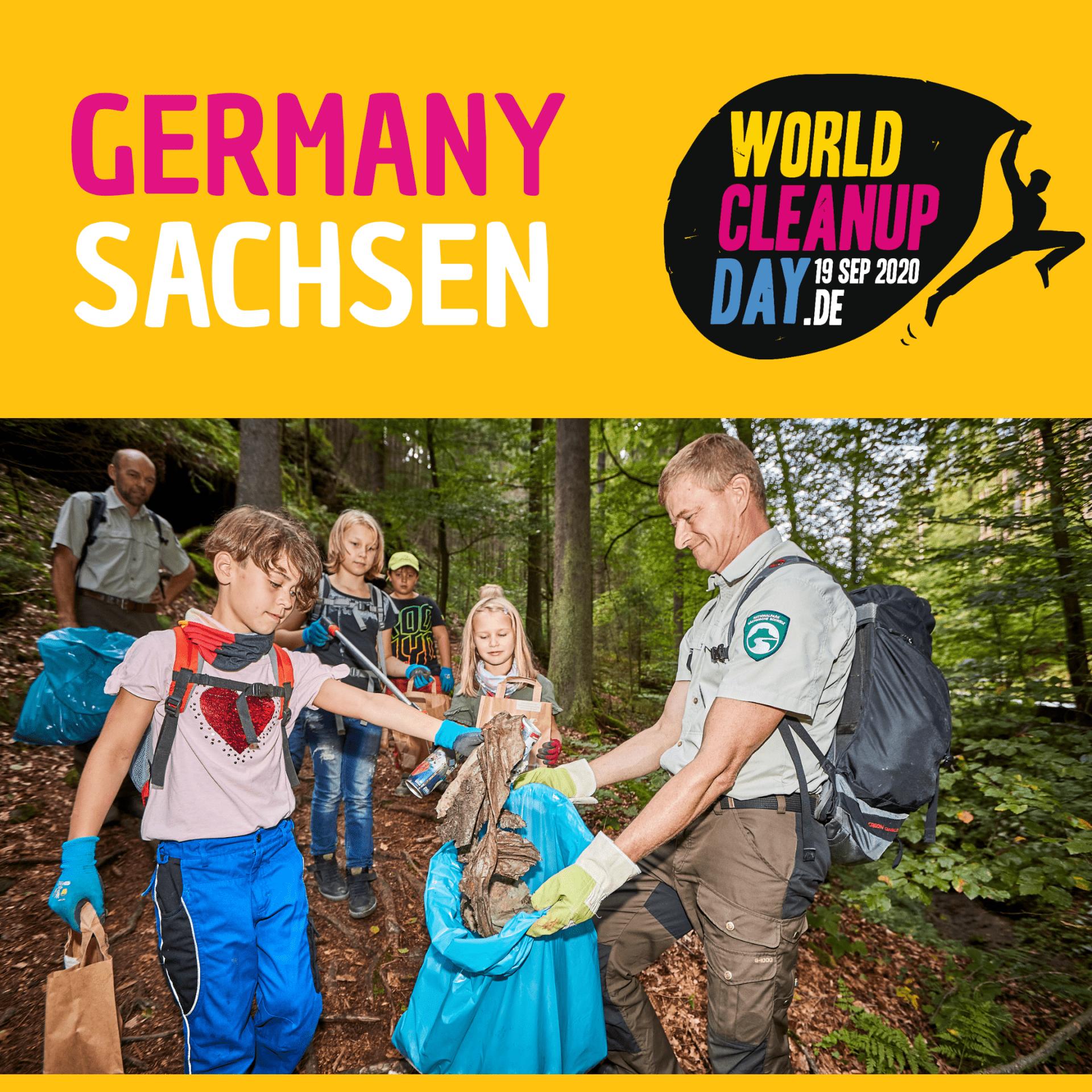 Clean Up im Wasserquartier Chemnitz (Sachsen)