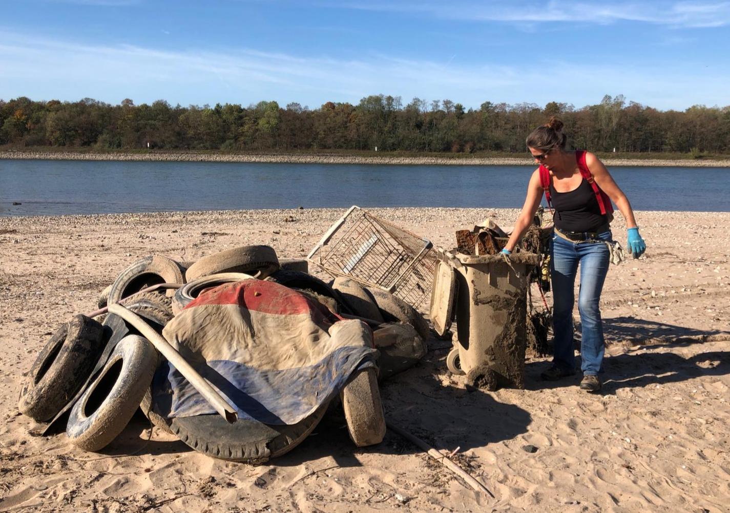World CleanUp Day am Straberger See (Nordrhein-Westfalen)