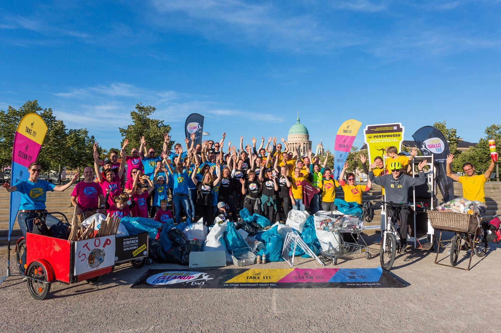World Cleanup Day 2020 - Potsdam macht sauber (Brandenburg)