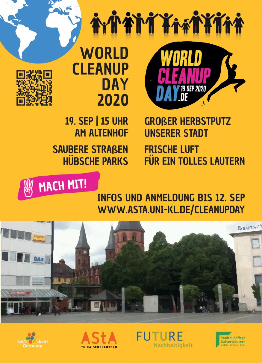 World Cleanup Day 2020 Kaiserslautern (Rheinland-Pfalz)