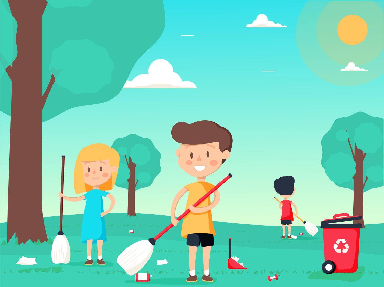 World Cleanup Day mit Höchst Sauber in Frankfurt-Höchst (Hessen)