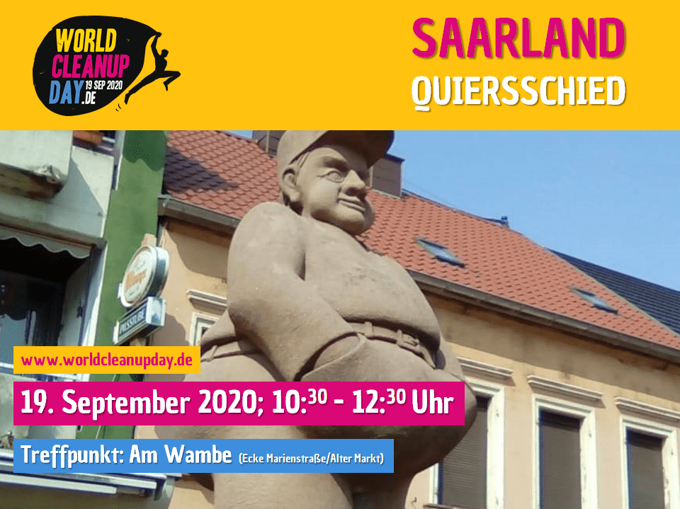 World Clean up Day in Quierschied (Saaarland)