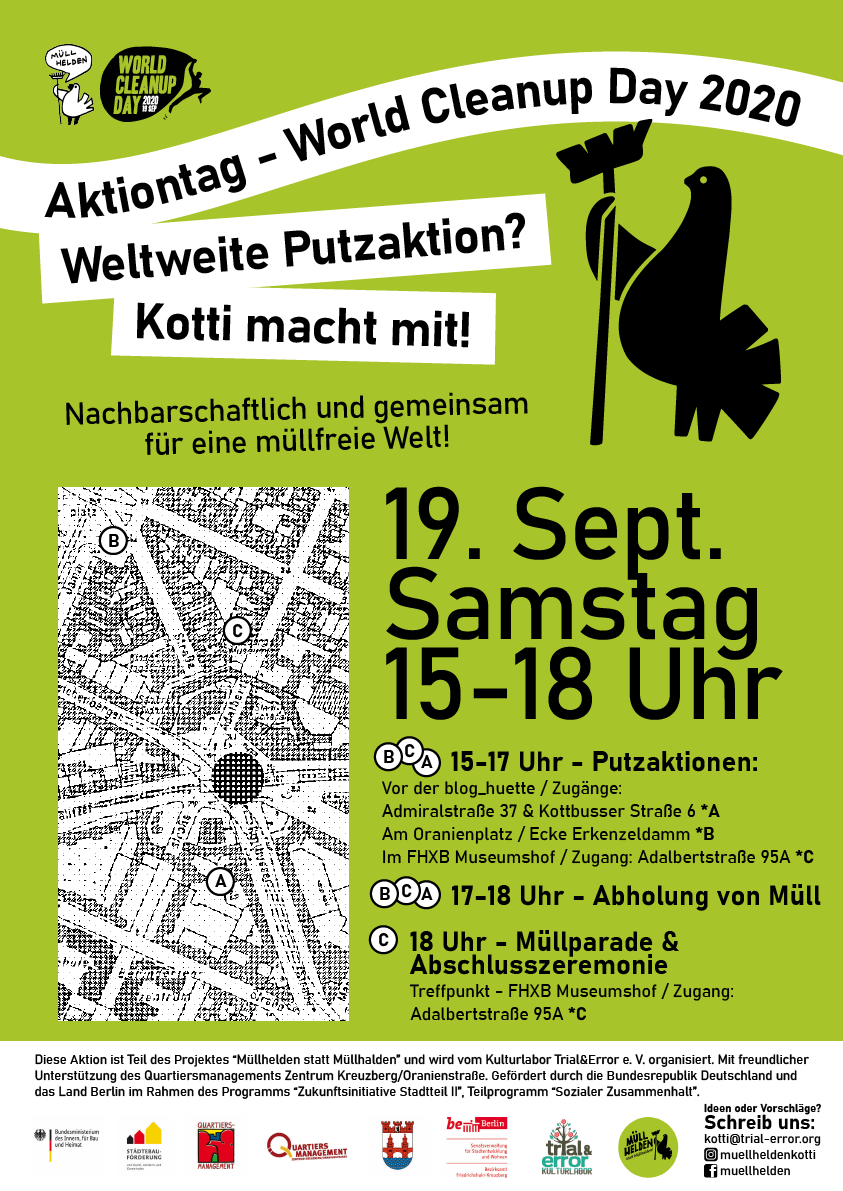 World Cleanup Day am Kotti (Berlin)