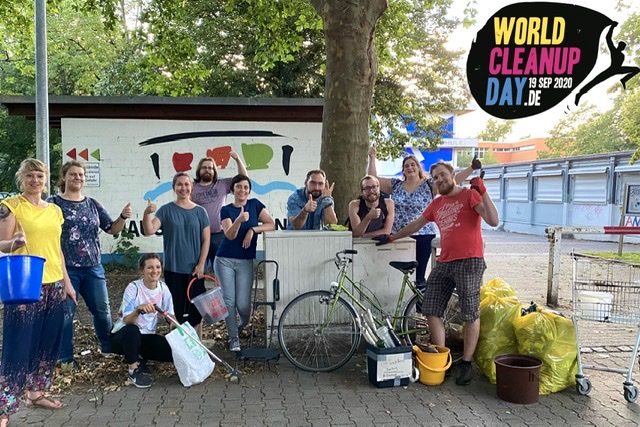 21. Trash Hero Freiburg Clean Up - Ariana Orient House - World CleanUp Day 2020 (Baden-Württemberg)