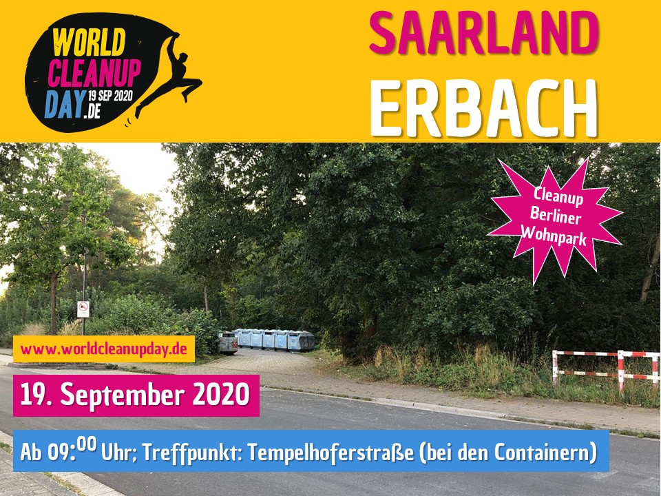 World Cleanup Day in Erbach (Saarland)