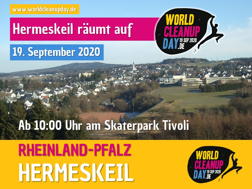 World Cleanup Day in Hermeskeil (Rheinland-Pfalz)