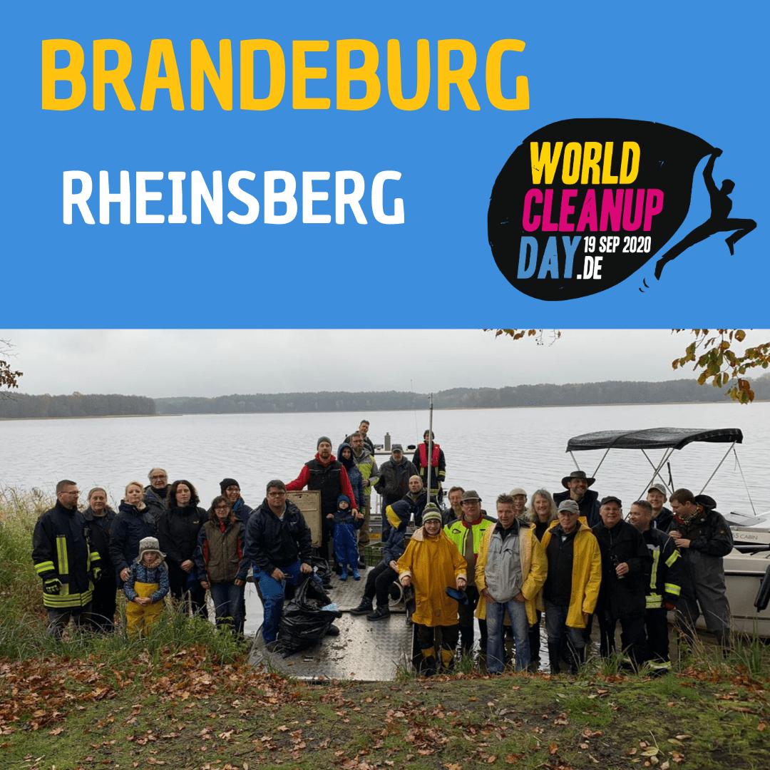 World Cleanup Day Rheinsberg und umliegende  Dörfer IX (Brandeburg)