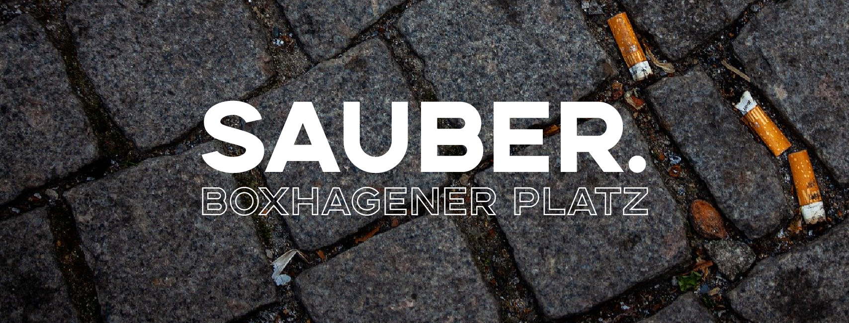 CleanUp | sauber.Boxhagener Platz (Berlin)