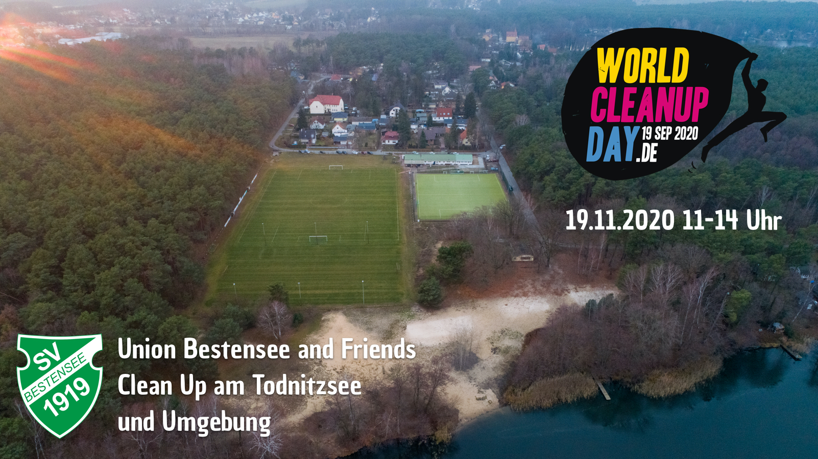 Union Bestensee and Friends Cleanup am Todnitzsee (Brandenburg)