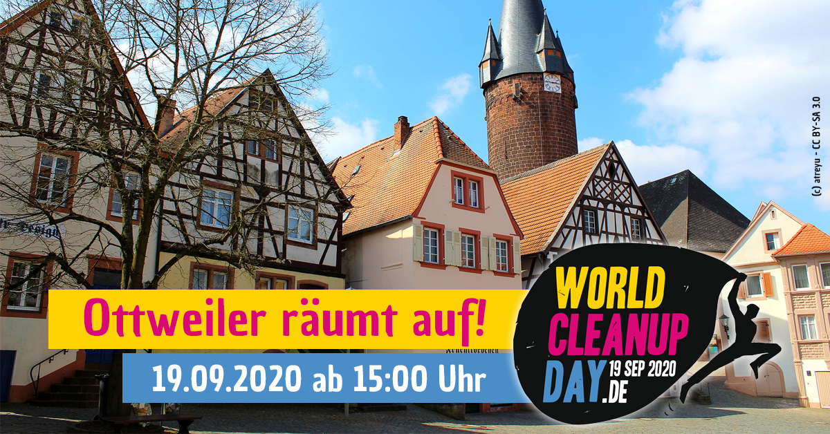 World Cleanup Day 2020 Ottweiler (Saarland)