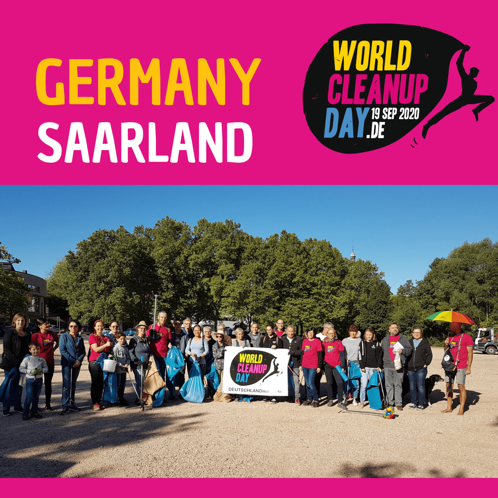 World Cleanup Day 2020 - Saarbrücken (Saarland)
