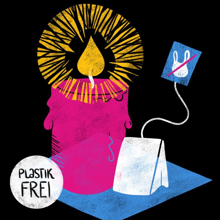 Plastikfreier Advent