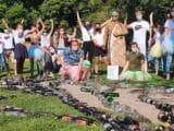 WorldCleanupDay im Englischen Garten in München