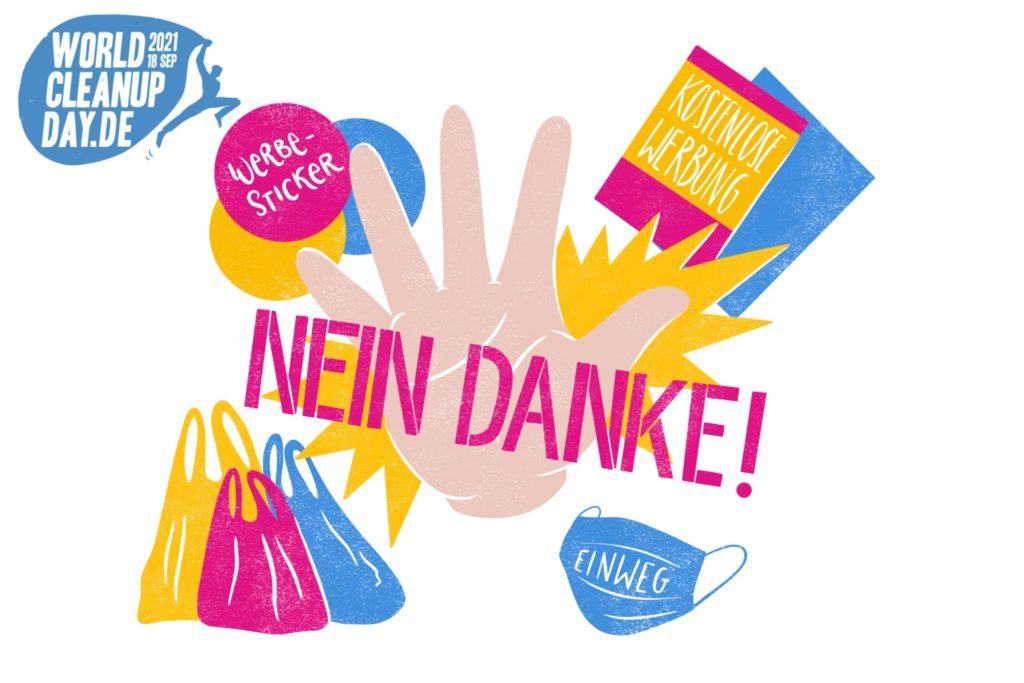 Wcd Nein Danke Weiss Quer Mit Logo